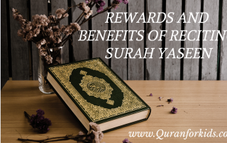 Rewards and Benefits of Reciting Surah Yaseen