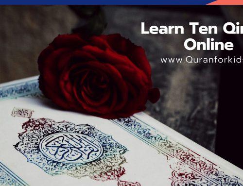 Learn Ten Qirats Online 2020