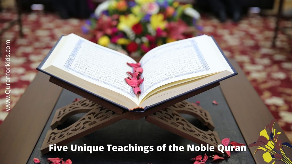 5 Unique-Teachings-of-the-Noble-