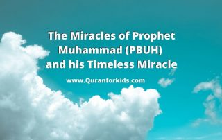 Miracles of Prophet Muhammad PBUH