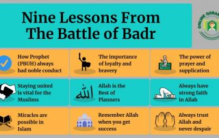 Nine lessons from Badr – The Battle of Badr