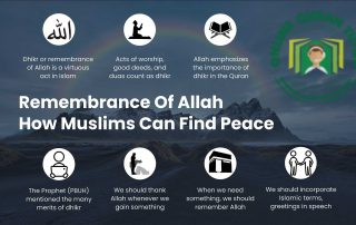 Remembrance Of Allah – How Muslims Can Find Peace