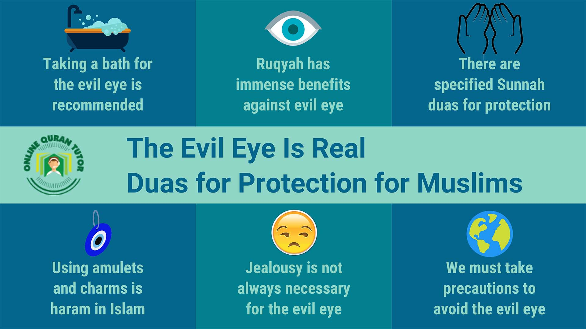 The Evil Eye Is Real – Duas For Protection for Muslims