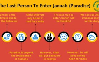 The Last Person To Enter Jannah (Paradise)