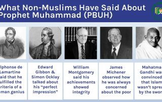 What Non-Muslims Say About Prophet Muhammad (S)