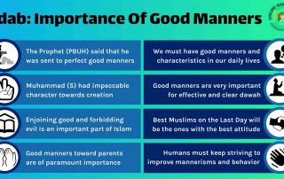 Adab: The Importance of Good Manners in Islam