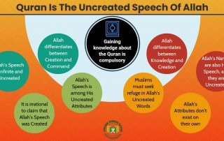 Quran Is The Uncreated Speech Of Allah (With Evidence)