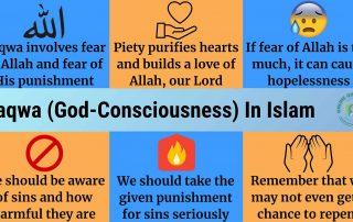 Taqwa (God-Consciousness) In Islam