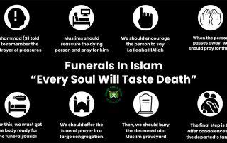 "Funerals In Islam: ""Every Soul Will Taste Death"""