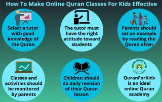 How to Make Online Quran Classes for Kids Effective