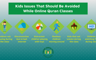 Kids Issues That Should Be Avoided While Online Quran Classes