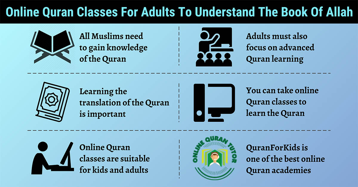 Online Quran Classes for Adults to Understand the Book of Allah
