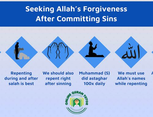 Seeking Allah's Forgiveness After Committing Sins