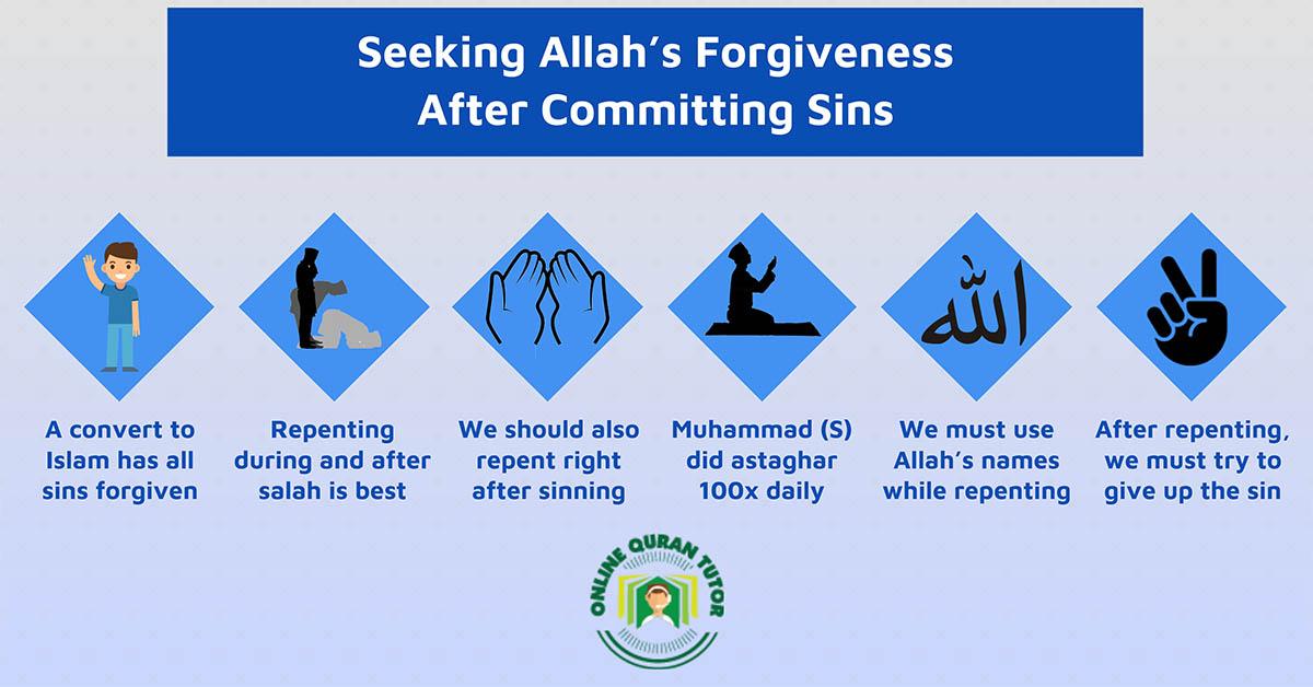 Seeking Allah's Forgiveness After Committing Sins