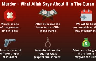 Murder – What Allah Says About It In The Quran