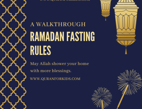 A WALKTHROUGH OF RAMADAN FASTING RULES