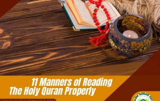 Manners of Reading Quran